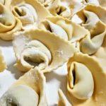 Pansoti fatti a mano | Agriturismo Il Castagneto - Castiglione Chiavarese | Liguria |