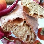 Ciabatta integrale fatta in casa | Agriturismo Il Castagneto - Castiglione Chiavarese | Liguria |