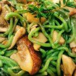 Tagliolini d'ortica santoreggia e porcini | Agriturismo Il Castagneto - Castiglione Chiavarese - Sestri Levante - Genova