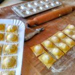Ravioli di patate e prescinseua | I nostri piatti - Agriturismo Il Castagneto - Castiglione Chiavarese - Sestri Levante - Genova
